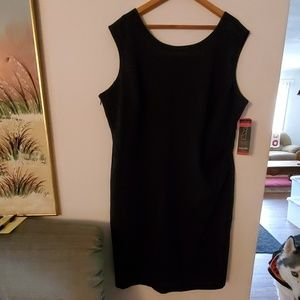 Rafaella Black Sleeveless Dress - 20W